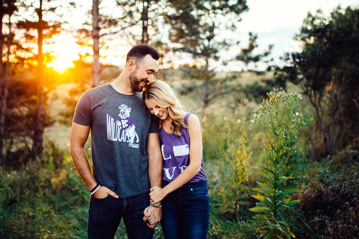 Chalco Hills Engagement Session | Omaha Wedding Photographer