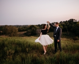 Sunset Engagement Session | Omaha Wedding Photographer