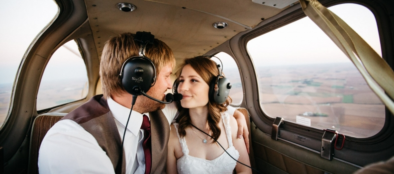 Wedding Flight | Omaha Wedding Photographer
